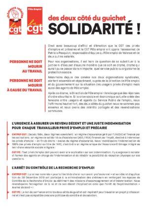cgt Pôle Emploi - CGT Chômeurs