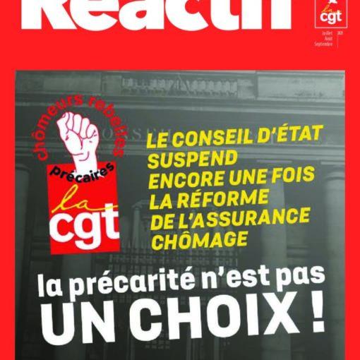 Réactif - trimestriel du comité chômeurs CGT - Précarité - n°101